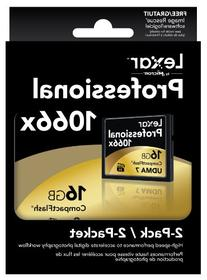 Lexar Professional 1066x 16GB CompactFlash card