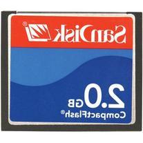 Sandisk 2GB Compactflash Card Type I