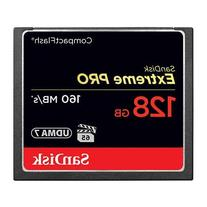 SanDisk 128GB Extreme Pro CompactFlash Memory Card