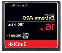 SanDisk Extreme PRO 16GB Compact Flash Memory Card UDMA 7