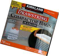 Kirkland Compactor Bags, 18 Gallon, Smart Fit Gripping