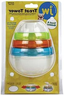 JW Pet Company 43505 Treat Tower Toys for Pets, Small, White