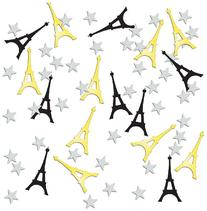 Beistle Company CN300 Eiffel Tower Confetti - Pack of 6