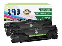 2PK EPS Compatibility Replacement for Canon 137 Toner for
