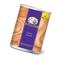 Wellness Natural Grain Free Wet Canned Cat Food, Chicken