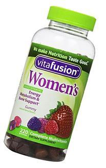 Vitafusion Women's Complete Multivitamin Natural Berry