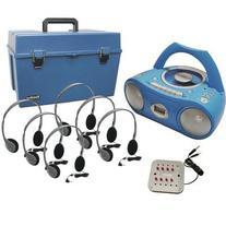 Complete Stereo CD/Cassette Listening Center with HA-2