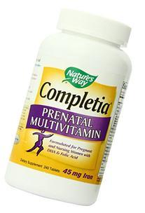 Nature's Way Completia Prenatal Multivitamin, 240 Tablets