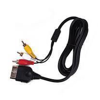 HDE Original Xbox Composite RCA Cable Adapter Audio Video