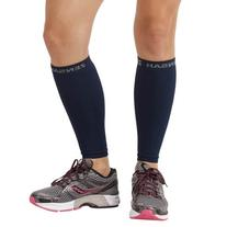 Zensah  Compression Leg Sleeves, Red, Small/Medium