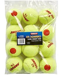 Tourna Low Compression Quickstart Tennis Balls for 60-Feet