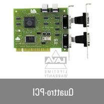 LAVA Computer Quattro-PCI Four Port Serial RS232