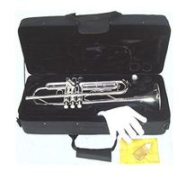 YMC Trumpet New Concert Band Real Silver plated Trumpet with