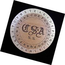 Confederate Army Cipher Disk - Civil War Encryption Wheels