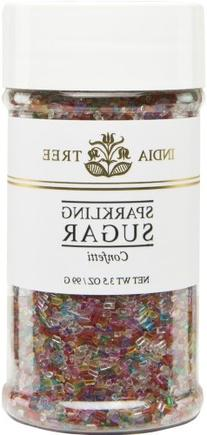 India Tree Confetti Sparkling Sugar, 3.5 oz