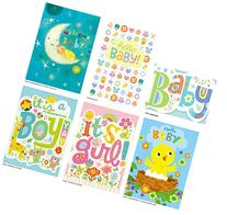 Peaceable Kingdom Congratulations Cards for New Babies - Box