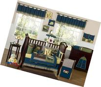 Sweet Jojo Designs 9-Piece Construction Zone Blue Baby Boy