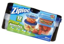 Ziploc Containers Variety Pack, 12 count