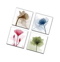 Home Art Contemporary Art Flower Giclee Canvas Prints Framed