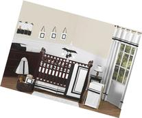 Sweet Jojo Designs Contemporary White and Black Modern Hotel