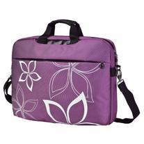 17 Inch Purple Contour Flowers Floral Print Laptop Computer