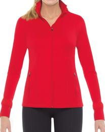 Spanx Womens Active Contour Jacket, M, Red