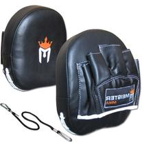Contour Padded Target Punch Mitts  for MMA & Boxing