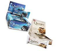 Quest Nutrition Cookies and Cream, Chocolate Chip Cookie