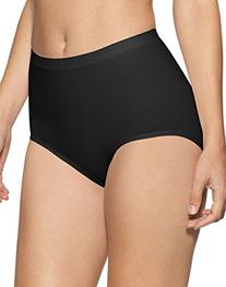 Bali Seamless Brief Ultra Control 2-Pack_2 Black_Large