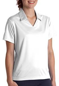 UltraClub Women's Cool & Dry Sport Pullover Solid Golf Shirt