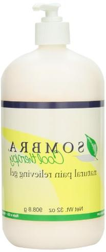 Sombra Cool Therapy Natural Relieving Gel, 32-Ounce