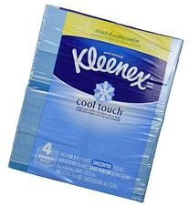 Kleenex Cool Touch Tissues, Upright - 50 ct - 4 pk