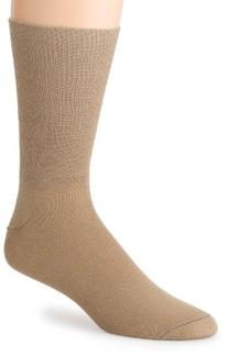 Wrightsock Coolmesh II Crew Sock - Khaki Medium