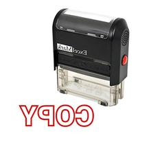 COPY Self Inking Rubber Stamp - Red Ink
