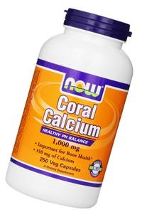 Now Foods Coral Calcium 1000mg, Veg-capsules, 250-Count