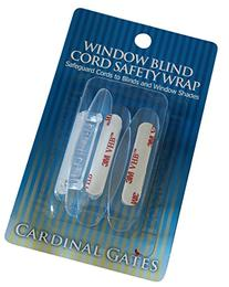Cardinal Gates Cord Safety 3- Wraps, Clear
