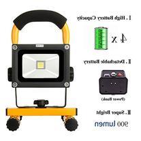 10W Work Light: LOFTEK Portable LED Outdoor Flood Light and