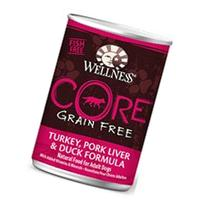Wellness CORE Grain-Free Turkey, Pork Liver & Duck Formula