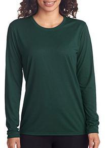 Gildan G424L Ladies Performance Long Sleeve T Shirt - Forest
