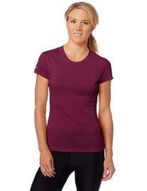 ASICS Women's Core Short Sleeve Top, Shock, Medium