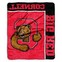 NCAA Cornell Big Red School Spirit Raschel Throw, 50 x 60-
