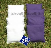Standard Bags Color: Purple and White