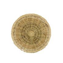 Johnson Rose 9440 Woven Bamboo Plate Holder, 10 inch