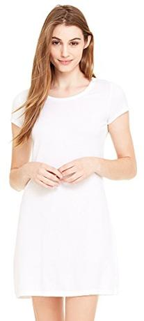bella Ladies Cory Vintage T-Shirt Dress, Midnight, S