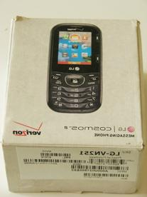 LG Cosmos 2 VN251 Verizon Wireless CDMA Slider Cell Phone w