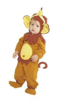 Rubie's Costume EZ-On Romper Costume, Monkey See Monkey Do,
