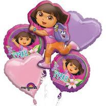 1 X Dora The Explorer Happy Birthday Mylar Foil Balloon