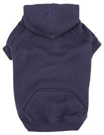 """Casual Canine Basic Hoodie for Dogs, 16"""" Medium, Navy"""