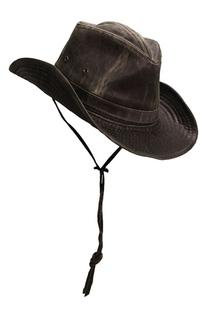 Men's Scala Cotton Blend Outback Hat - Brown