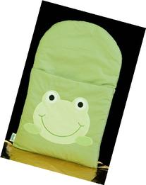 zCush Cotton Characters Nap Mat, Googly Green